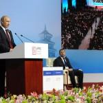 Владимир Путин: Россия намерена расширять торговлю в рублях и юанях за счёт экспорта энергоресурсов