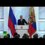 Ежегодное послание Владимира Путина Федеральному собранию – полный текст и видео