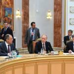 Владимир Путин: На переговорах в нормандском формате удалось договориться о главном