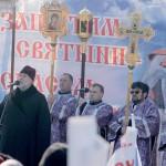 В Новосибирске прошел десятитысячный митинг «Защитим святыни — спасём Россию!»