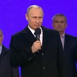 Речь Владимира Путинана на митинге-концерте «Мы вместе» 18 марта 2015 года