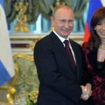 Пресс-конференция Владимира Путина и Кристины Киршнер