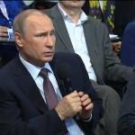 Владимир Путин принял участие в медиафоруме ОНФ