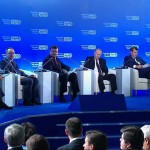 Владимир Путин принял участие в форуме «Деловой России»