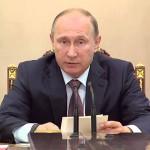 Владимир Путин: Россия подвергается давлению, потому что она не торгует своим суверенитетом