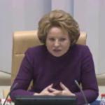 Вопрос: В. И. Матвиенко — главе Центробанка Игнатьеву. 20.02.2013