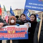 «Грозный ТВ» насчитала миллион человек на митинге в поддержку Кадырова