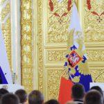 Владимир Путин встретился в Кремле с членами олимпийской сборной России
