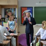 Путин поздравил школьников с Днём знаний