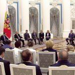 В преддверии выборов в Госдуму президент РФ Владимир Путин провел встречу с членами «Единой России»